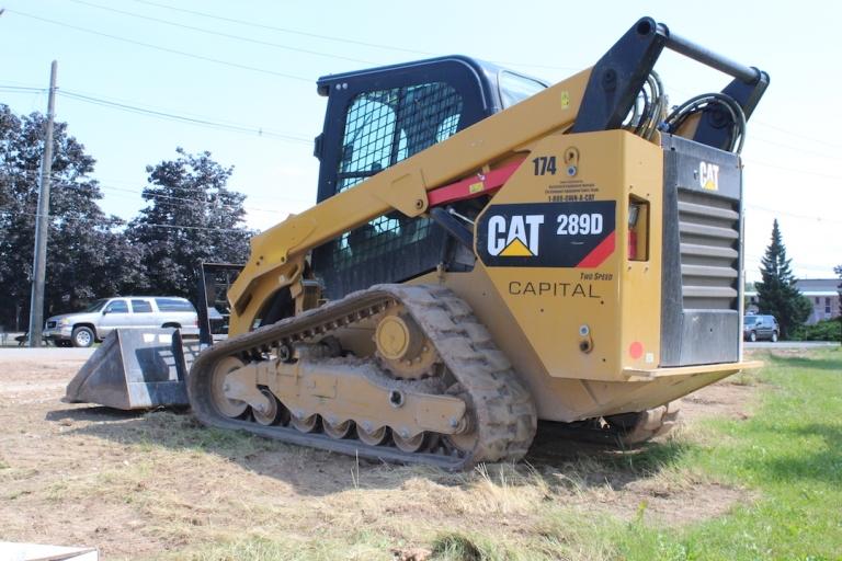 Cat 289D CTL